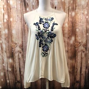 Abercrombie & Fitch Cold Shoulder Top Size Medium